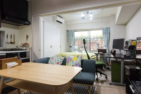 Shirogane near Roppongi and Shibuya, Free Wifi - Apartment