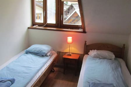 Twin Bedroom/Double in Le Chable, Verbier - Bagnes - Leilighet