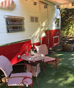 Shasta AirFlyte in Country Setting - Napa - Camper/RV