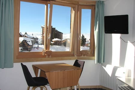 Avoriaz 1800m, studio plein centre skis aux pieds - Morzine - Appartement