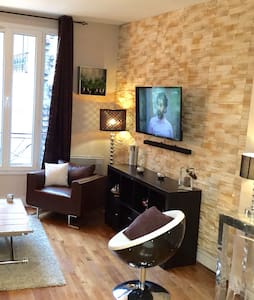 Clichy,Paris,Grand Studio spacieux - Clichy - Appartement