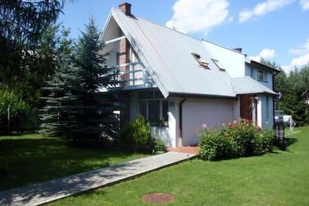Dom w Białobrzegach, koło Płocka - Huis