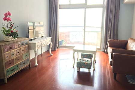 Mangrove river-view Waterbirds Home 6 min to Metro - Tamsui District - Apartment