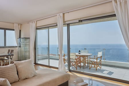 Elegant apartment amazing sea views - Saronida - Huoneisto