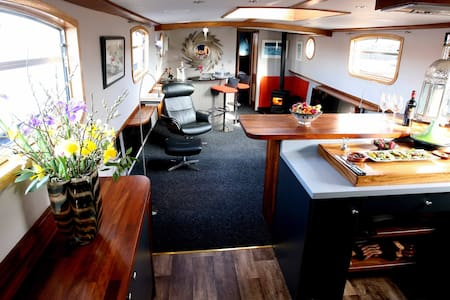 Luxury Boatel on the River Shannon - Boot