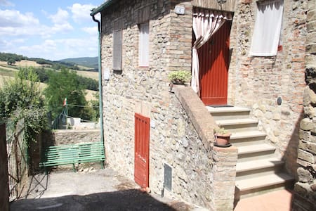 Rural House in the middle of  nature - Montalcinello - Huoneisto