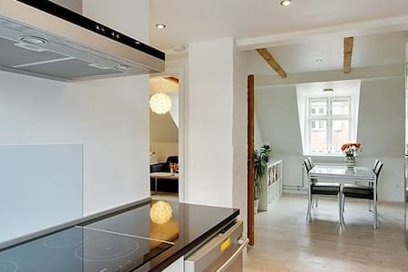 Nice and bright penthouse in Aarhus C - Apartmen