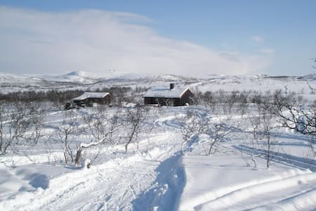 Fjellhytte med badstue - Sør-Varanger - Casa de campo