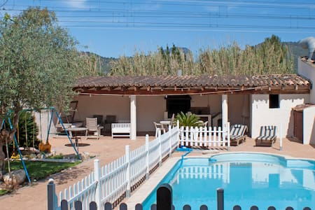 Family house with pool and barbecue. - Townhouse