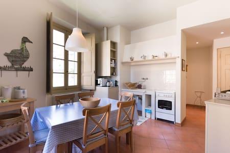 Charme aptin historic building - Ponte In Valtellina - Apartment