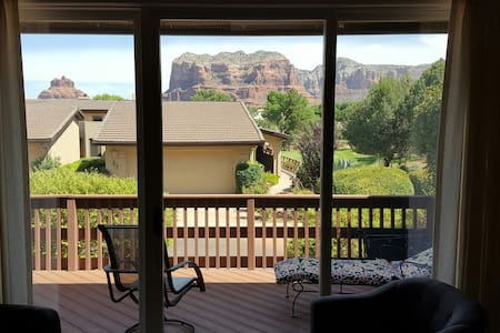 Red Rock views at Canyon Mesa Country Club - Sedona - Sorház