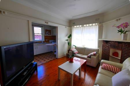 Stunning Master Double Bedroom Bondi Beach - Appartement