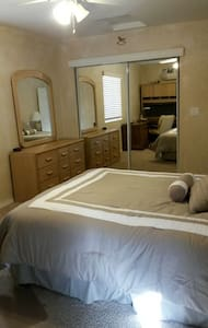South Rm Queen Bed & Walk in Shower - House