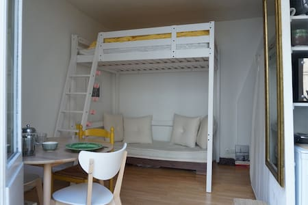 Charming studio with balcony - Wohnung