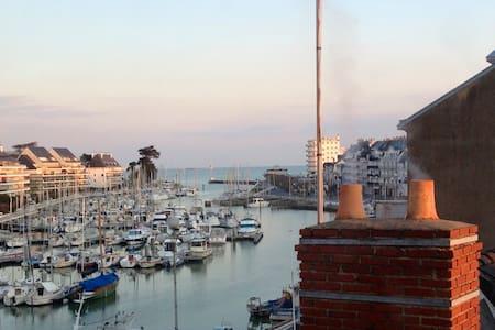 Exceptionnel duplex vue port - Le Pouliguen