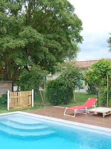 logement dans ferme lauragaise - Lanta - Huis