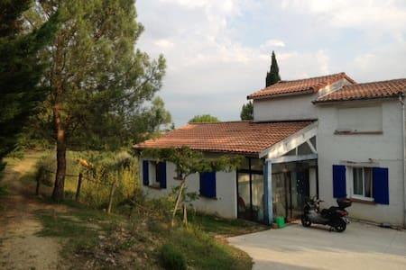 maison provençale à 10 min Toulouse - Huis