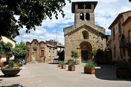 Cool&charming 5 mins from the lake. - Serinyà
