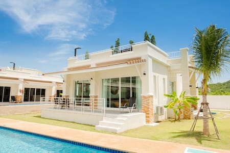 #47 230m2 Private Jacuzzi poolside villa - Tambon Sam Roi Yot - Villa