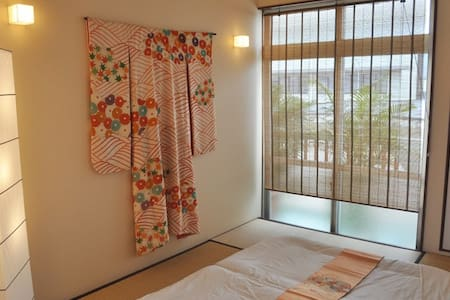 La Passione's two great tatami rooms - Naha-shi - Bed & Breakfast