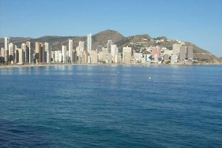 Bungalow at beach Benidorm