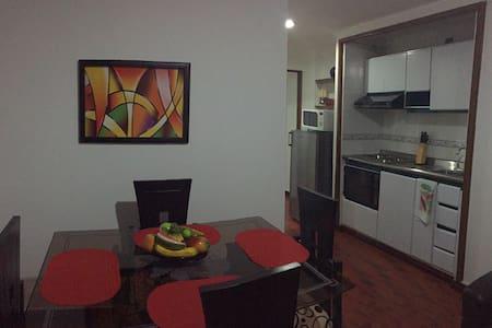 AGRADABLE APARTAMENTO AMOBLADO - Apartamento