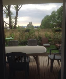 Appartement  5min lac 25m2 terrasse - Annecy-le-Vieux - Wohnung
