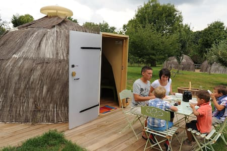Le camp des marmottes - Hut