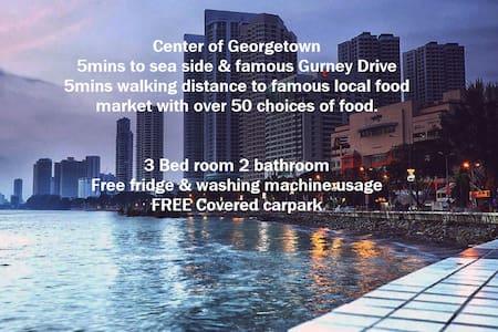Penang 8mins to Gurney Georgetown - George Town - Lakás