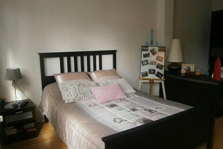 Grande chambre pour 3 personnes, - Saint-Étienne - Bed & Breakfast