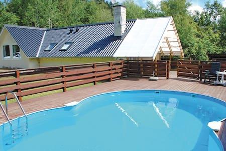 dejligt roligt sommerhus med pool - Ebeltoft