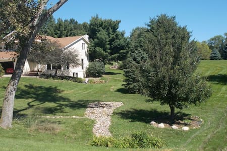 Private WDM acreage! Gorgeous views - Ház