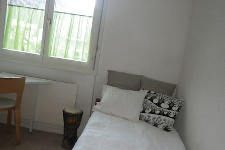 single room in a cosy family house in Martigny - Martigny - Hus