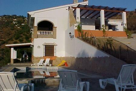 Casa Rural Fuente de la Teja a 9 km de la playa. - Huis