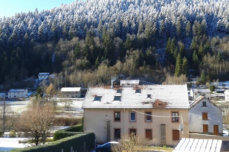 Spacious flat in moutains, close from everything - Plainfaing - Apartment