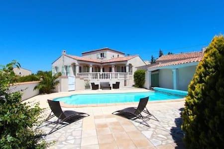 Beautiful villa in South of France - Boutenac