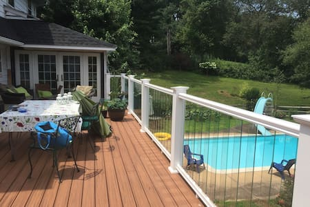 Pool & hot tub - 2 rooms w. private bath Hockessin - Hockessin