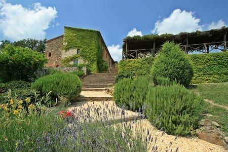 Villa Montebello Luxury Villa near San Galgano - Vila