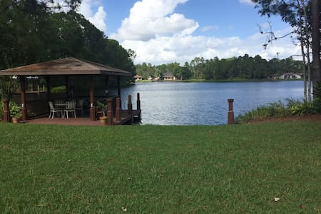 Peaceful waterfront private room & bath - Sebring - Ev