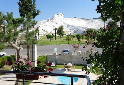 PRİVATE TRİPPLE ROOM VIEW POINT HOTELpokemoncenter - pamukkale