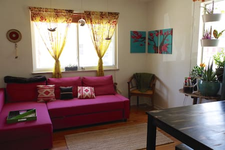 Funky, cozy and spacious house off S. Broadway - Hus