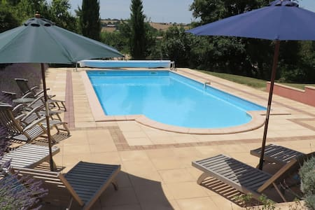 Luxury Farmhouse with private pool - Puylaurens - Talo