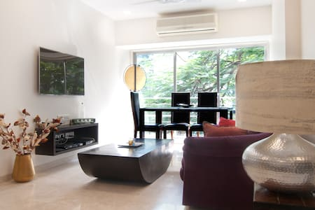 Modern Tranquil Apartment near the Beach - Mumbai - Leilighet