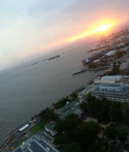 1BR with Amazing Manila Bay view.석양이아름다운 방울이네집*2* - Apartament