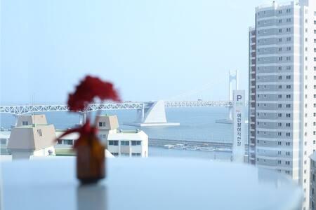 광안리. 오션뷰 핵꿀뷰 ocean view - Apartment