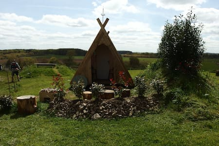 Hexenhaus auf Ferme Mellon - Plouguernével - Hut