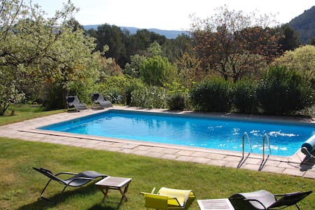 Superb family villa with pool & outstanding views - Salernes