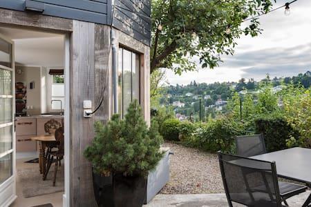 Superbe Studio DÉCO terrasse vue - Mont-Saint-Aignan