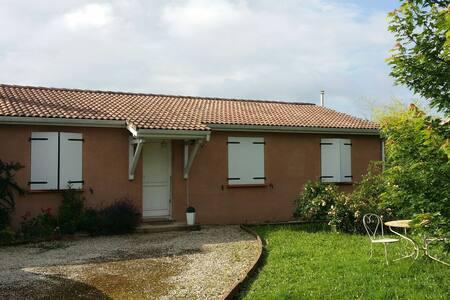 Maison calme proche de Toulouse - Ev