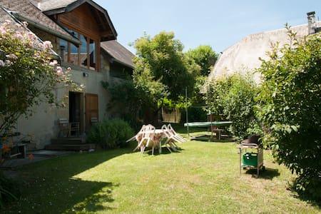 Maison de charme à la campagne à 14km d'Annecy - Marcellaz-Albanais